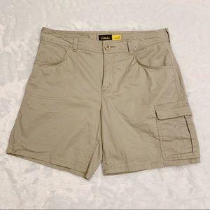 🆕 Cabela's Khaki Cargo Shorts